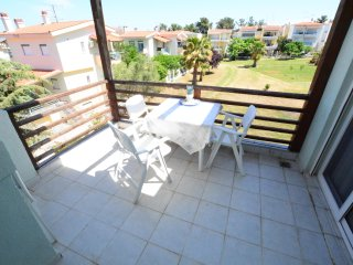 R79 Sunny Apartment with a large yard.