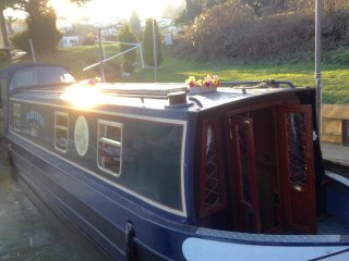 narrow boat Maidstone, East Farleigh