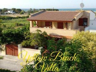 Yellow Beach Villa sul Mare 8 Posti Letto