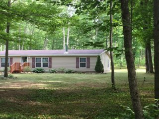 NEW! Intimate 3BR Gaylord House Set in the Woods!