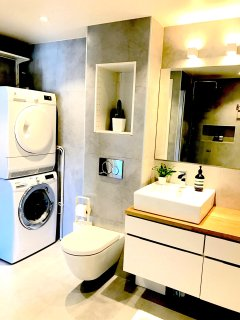 Washer and dryer at your disposal