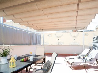 Poblenou Beach one bedroom with terrace apartment