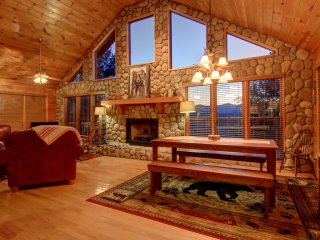 The Cashes Mountainview offers both privacy and a spectacular mountain view.