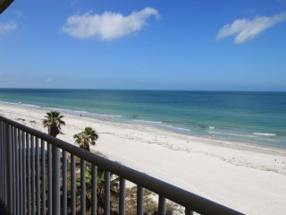 JUST COMPLETED RENOVATION-  Luxury 3BED/2BATH Beachfront Condo in Indian Shores