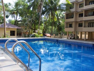 3 Bedroom Apartment with Private Terrace & Pool in Mapusa, Goa