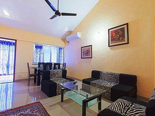 2 BHK Baga Beach Apartment with Pool View near Titos Club