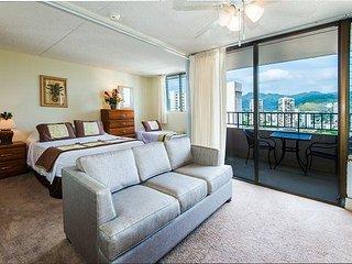 Royal Kuhio Condo with Sweeping Views, Pivate Lanai, Full Kitchen, Parking
