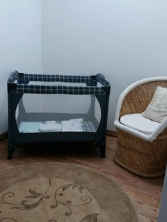 Upstairs room for baby or kids play area