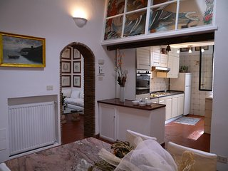Apartment Trilussa holiday vacation apartment rental italy, rome, near trastever
