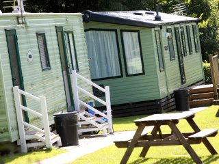 2 bedroom standard caravans -Tehidy Holiday Park