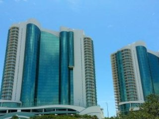 Low Floor ~ Corner Condo ~  4 BR and 4.5 Bath ~ All Tile ~ Turquoise Place 801D