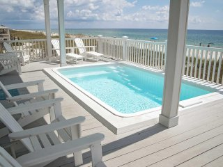 Gulf Front ~ 5 bed ~ Private Pool ~ Sleeps up to 21 ~ Sea Le Vie Beach House