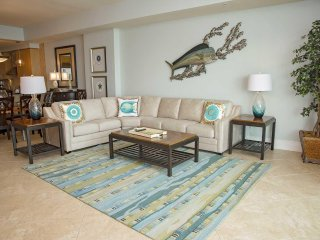 Gulf Front ~ All Tile ~ Sleeps 10 ~ Turquoise Place 903D