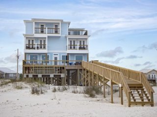 Gulf Front ~ Private Pool ~ Sleeps 25 ~ Happy Our Beach Home
