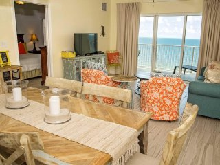 2 BR ~ Gulf Front ~ All Tile ~ Sleeps 7 ~ Crystal Shores West 505