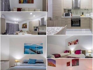 Splendid New 3 bedroomed fully a/c apartment in Qawra