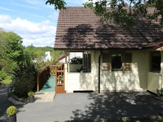Luxurious lodge in peaceful location near Portree town centre.