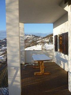winterview vanaf het terras