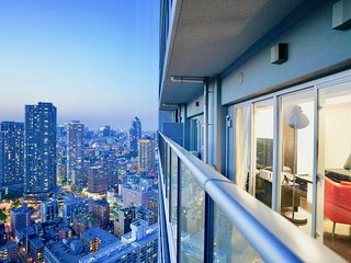 Extraordinary Tokyo Night View Upper Floor Large Comfy Luxury Apartment