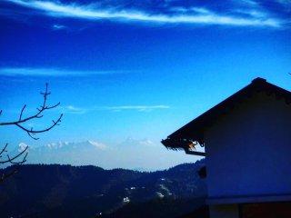 Casa vista a la Montaña - Mountain view villa, near Mukteshwar