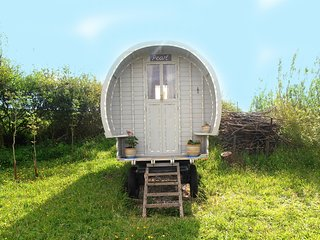 Our Pearl, the gypsy caravan.