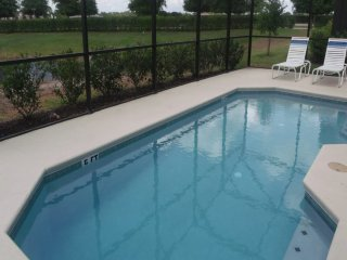 This is a 4/3 Pool Home property, fully furnished, with a full kitchen, and has