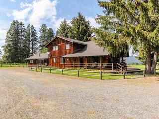 Historic farm home features peace, tranquility, and stunning views!