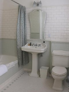 An extra-long six foot tub