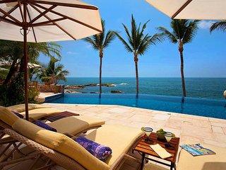 4 BR ocean front Villa In Conchas Chinas Villa Sur VAS