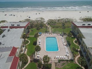 Ocean View 2 Bedroom, 2 bath condo - Steps to the beach - Gated Resort