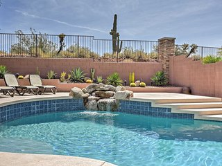 New! 5BR Phoenix House w/ Private Pool & Fire Pit!