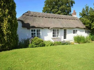 THE THATCHERS, woodburning stove, en-suite, BBQ, Norton Green, Ref 941962