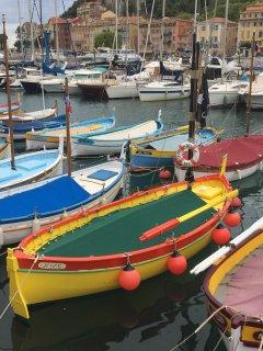Fishing boats at the Port.