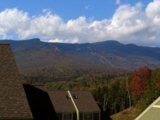 3BR, 3BA Overlook at Topnotch Resort & Spa with Fantastic View of Mt