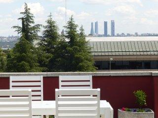 Atico Duplex Mirador de Madrid