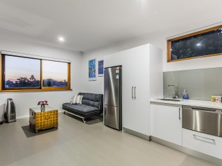 Sofa bed, fridge, washing machine with complimentary detergent; dishwasher and water purifier
