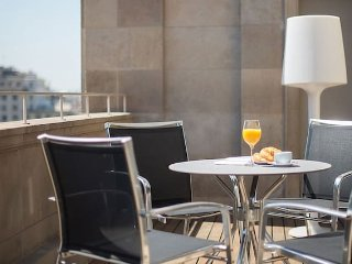 Luxury suite with private terrace Placa Catalunya