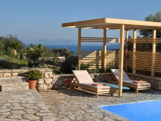 2 villas with  2 private pools for up to 12 persons