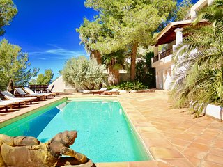 7 bedrooms, 14 to 17 people, Luxury villa Ibiza, magic place