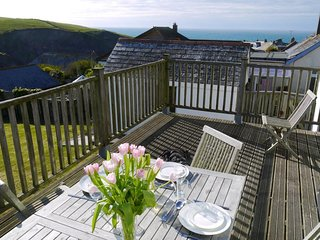Bay View - With views to Doc Martin's and valley