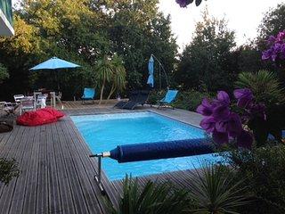 Maison de charme avec piscine, proche Biarritz, Arcangues