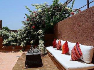 Dar Anas - Magnifique villa-riad (3 chambres) dans résidence luxueuse Palmeraie