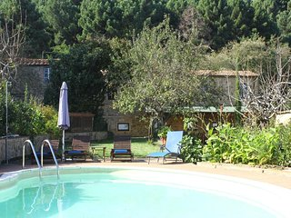 Villa Campo, villa with swimming pool in the green hills of Tuscany, Pisa