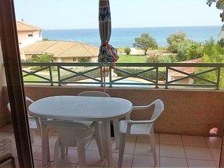 Appartement pour 4 personnes sur la plage avec vue mer