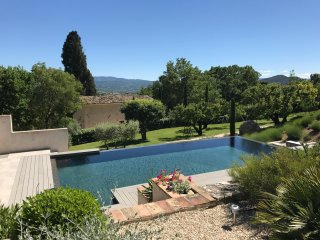 Fabulous 1 Bedroom Cottage with a 'Zen' Pool, View of Luberon, WiFi