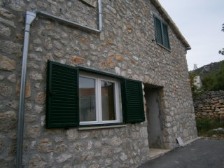 My house is old stone house, but completed renovated.House has three rooms.
