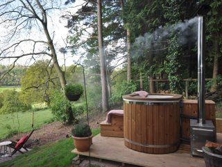 42901 Log Cabin in Hay-on-Wye, Abbey Dore