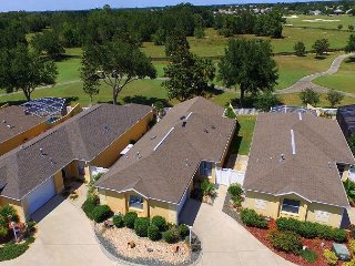 Golf Course Fronting. Privacy. Immaculate. Golf Cart. Village of Polo Ridge., The Villages
