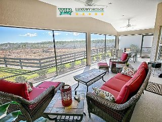 Golf Cart. Oversized. Overlooking Nature Preserve. 2,500 sq/ft. Designer., The Villages