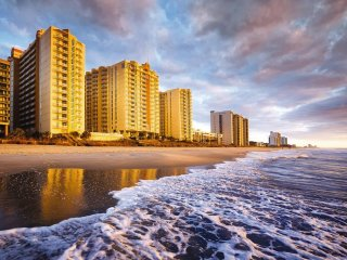 Ocean View Two Bedroom Condo in North Myrtle Beach